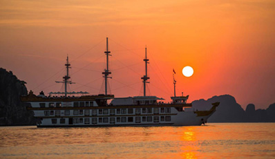 DRAGON LEGEND CRUISE | Bai Tu Long Bay 2D1N