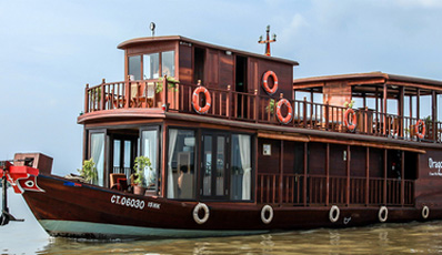 MEKONG DRAGON EYES CRUISE | Can Tho - Cai Be 2 days 1 night