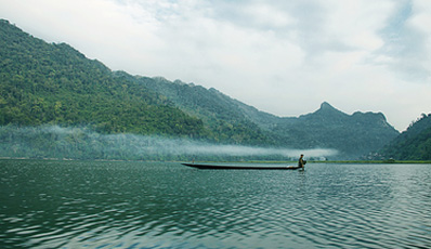 Journey to Tan Trao - Ba Be Lake