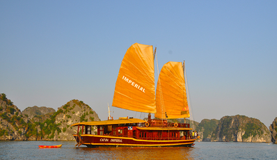 CAT BA IMPERIAL - Private Junk | Cat Ba - Lan Ha Bay 2 days 1 night