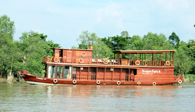 MEKONG DRAGON EYES CRUISE | Cai Be - Can Tho 2 days 1 night