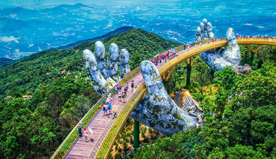 Explore Danang - Ba Na hill - Golden Bridge (Group Tour)