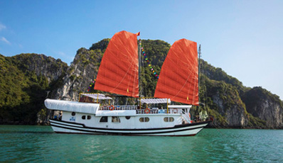DRAGON BAY - Private Cruise | Bai Tu Long Bay 2 days 1 night