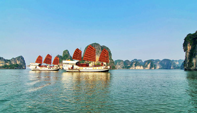 RED DRAGON - Private Cruise | Bai Tu Long Bay 2 days 1 night