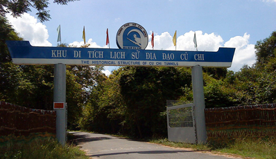 Ho Chi Minh Car rental | Transfer to Cu Chi Tunnel for full day tour