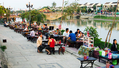 Vespa Tour streets & eat of Hoi An