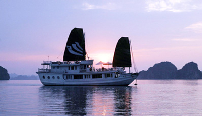 BHAYA LEGEND 3 Cabins - Private Cruise | Halong Bay 2 days 1 night