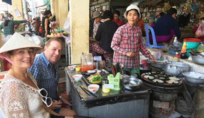 Nha Trang street food tour by cyclo