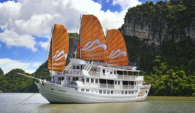 PARADISE PEAK CRUISE | Halong Bay 2D1N