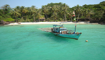 Discover 4 islands in the South of Phu Quoc by speed boat