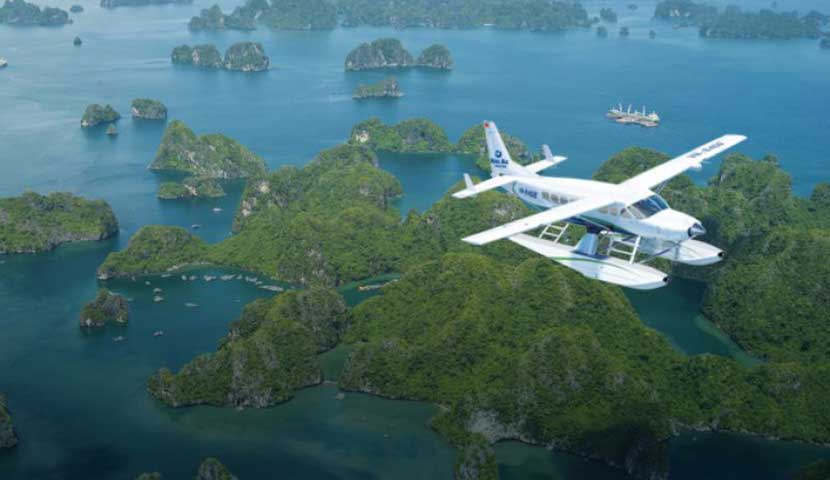 Halong Bay Dream by Charter Seaplane