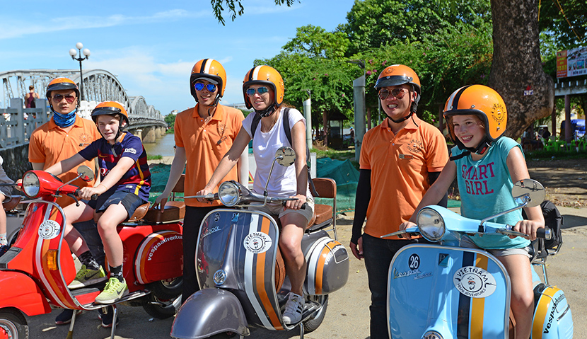 Vespa Tour Hue Imperial Adventure