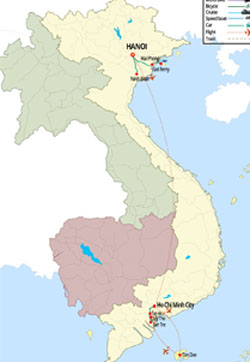 Northern & Southern Vietnam Tours